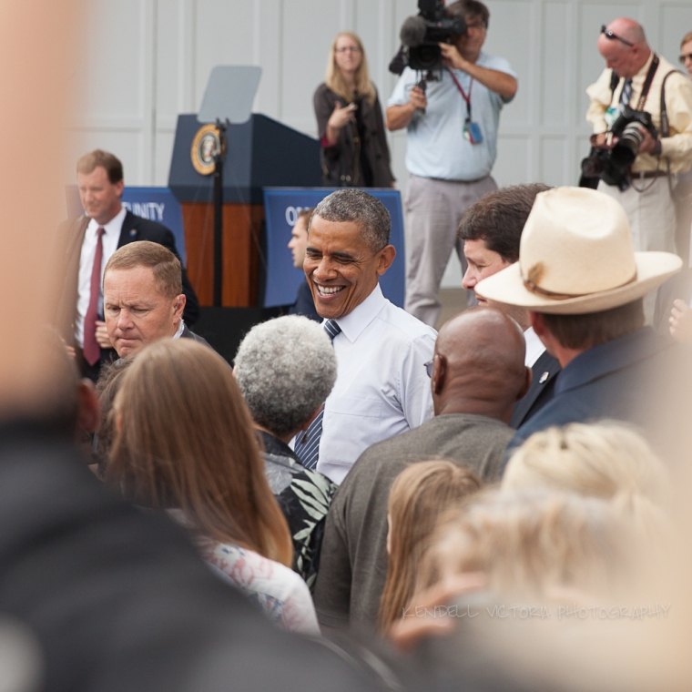 obama smiling at lake harriet bandshell