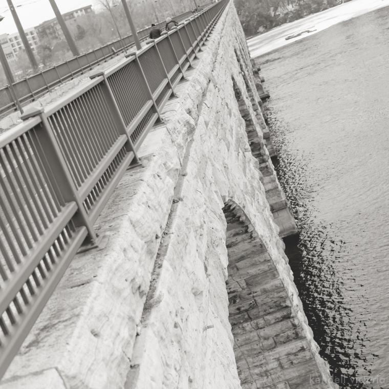 Stone Arch Bridge, Mill City, Gold Medal Flour, Minneapolis
