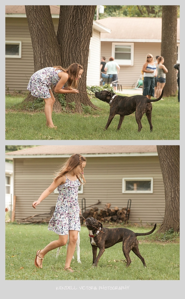 little girl with pit bull, pit bulls minneapolis, mn, secondhand hounds,